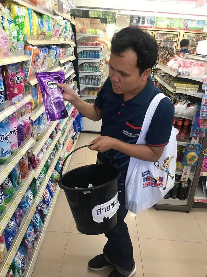 No More Plastic Bags In Thailand, So People Are Looking For Alternatives
