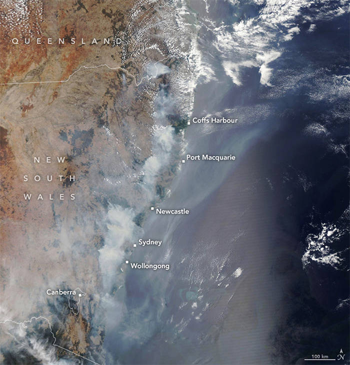 Satellite Images Show How Dire Australian Bushfires Really Are…