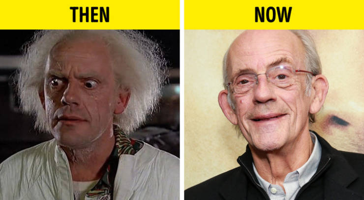 """""""Back To The Future"""" Cast In The Present"""