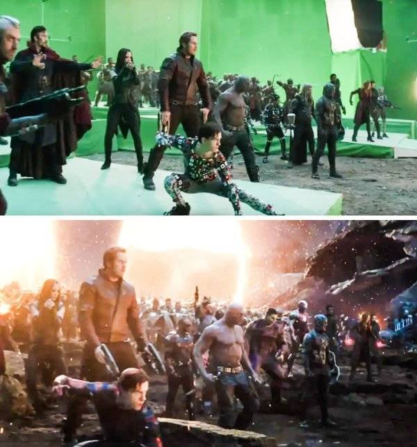 Take Your Dose Of CGI With These Behind-The-Scenes Shots