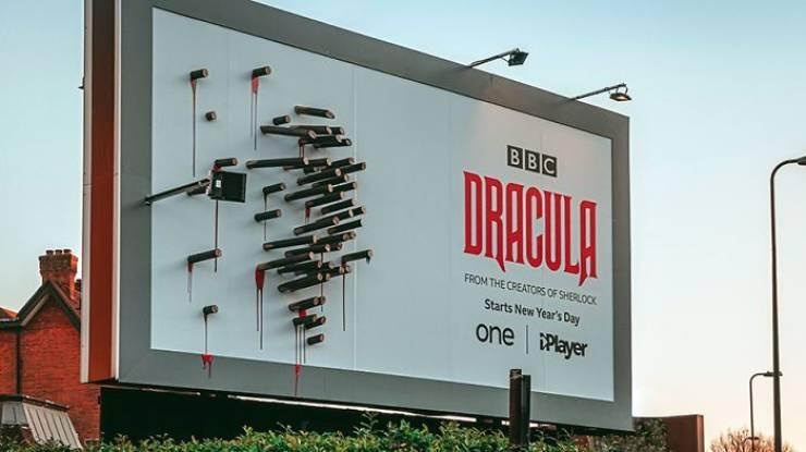 """This BBC's """"Dracula"""" Ad Only Makes Sense At Night…"""