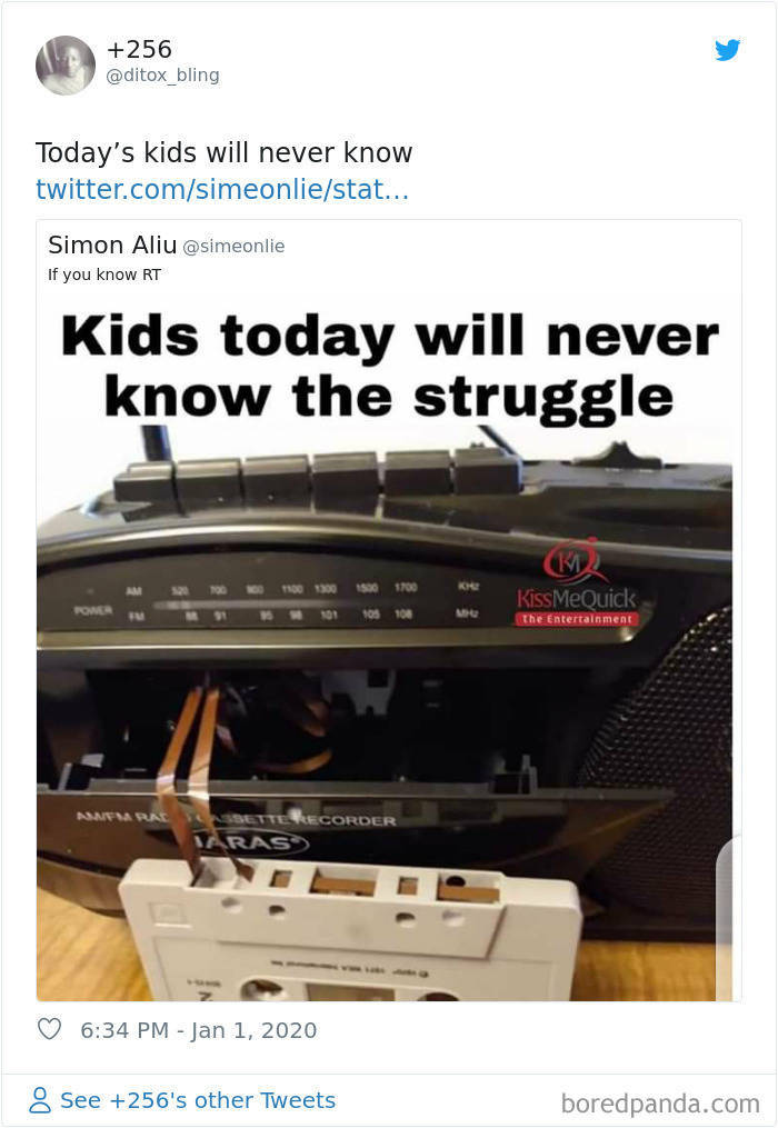 Today's Kids Will Never Understand This…