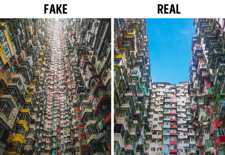 Yeah, So These Viral Photos Are Fake…