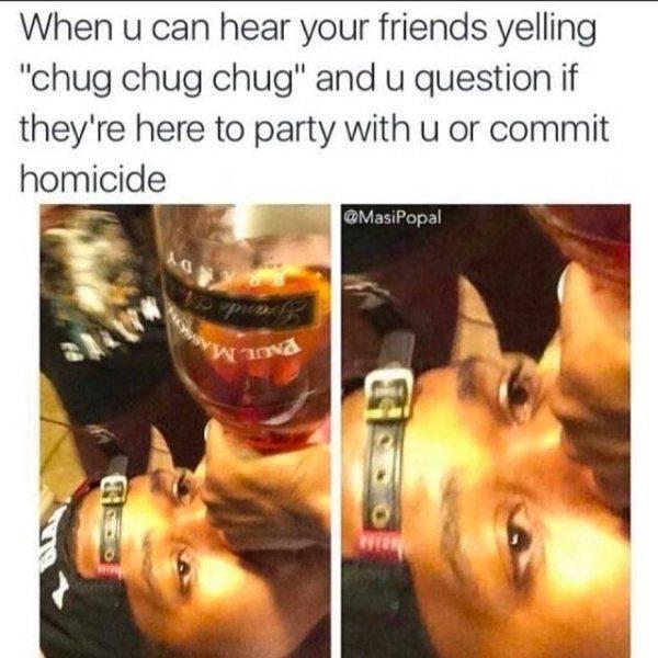 Drunk People Always Do Drunk Things…