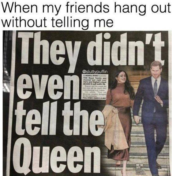 Runaway Memes About Prince Harry's And Meghan Markle's Latest Stunt