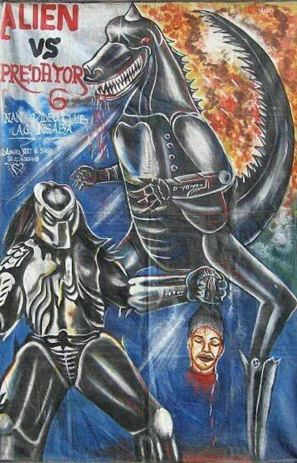These Bootleg Movie Posters From Africa Are Like Nothing You've Seen Before