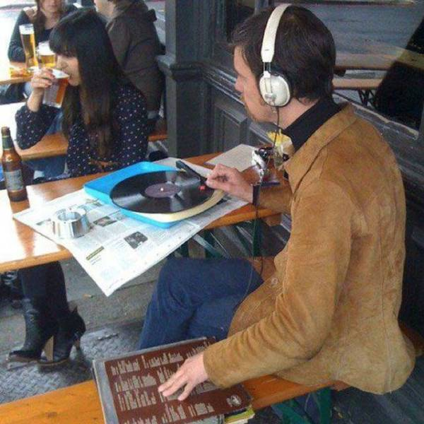 This Is Some Extreme Hipsterism…