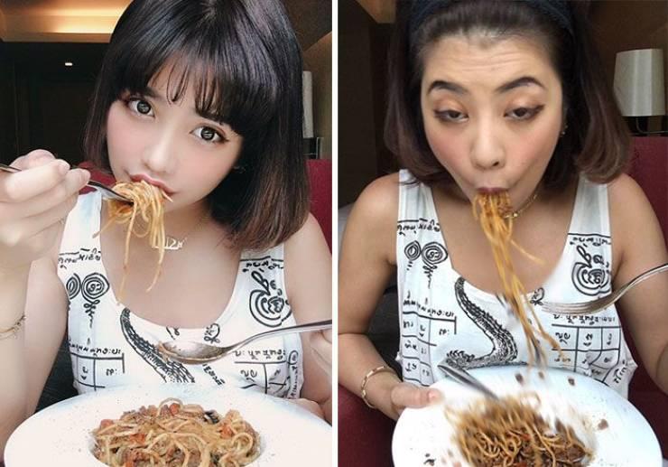 Instagram Vs. Reality. Thai Version