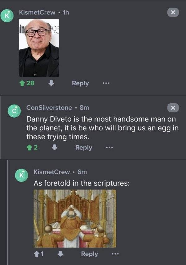 Danny DeVito Is The Father Of Memes