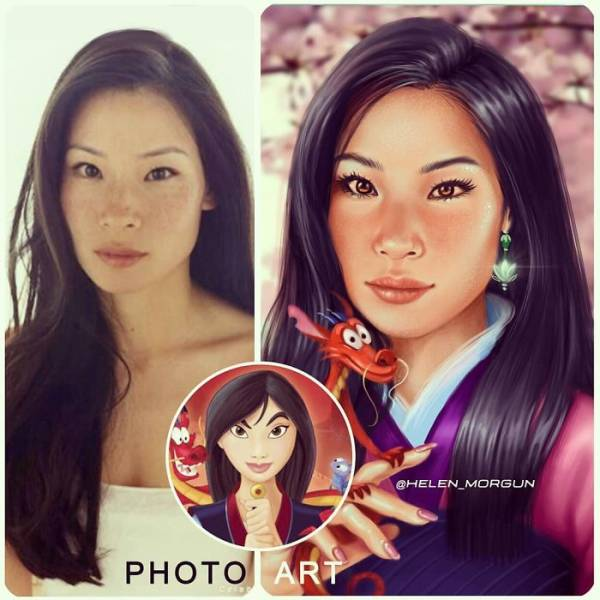 What If Celebs Looked Like Disney Characters?