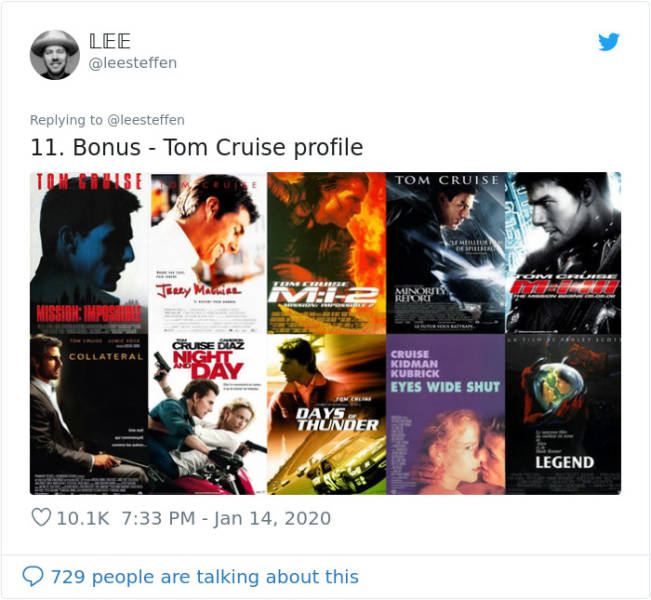 All Movie Posters Fall In The Same Categories…