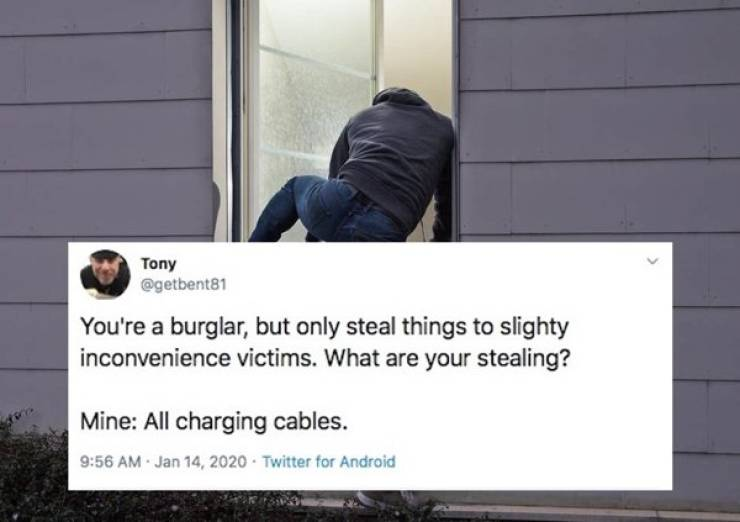 These Burglars Are So Inconvenient!