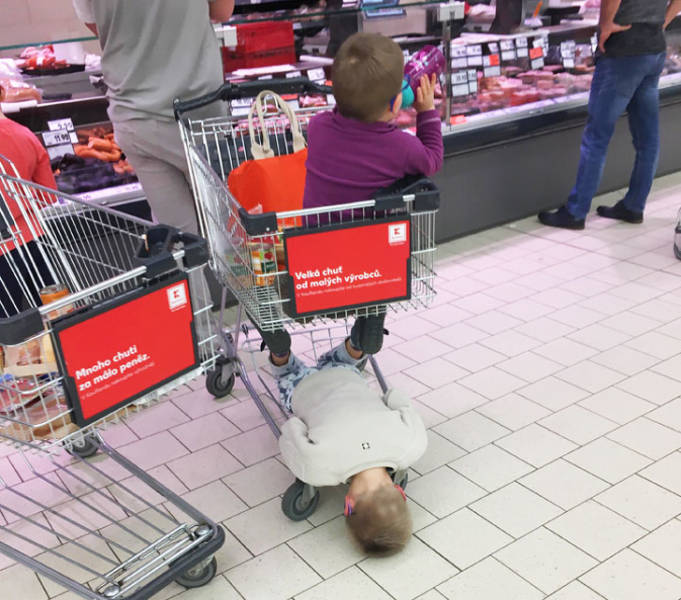 Parenting Takes Some Really Strong Nerves…