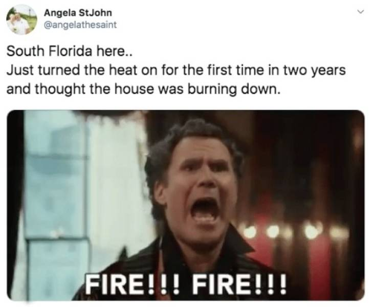 Florida Can't Handle All This Sudden Winter Thing