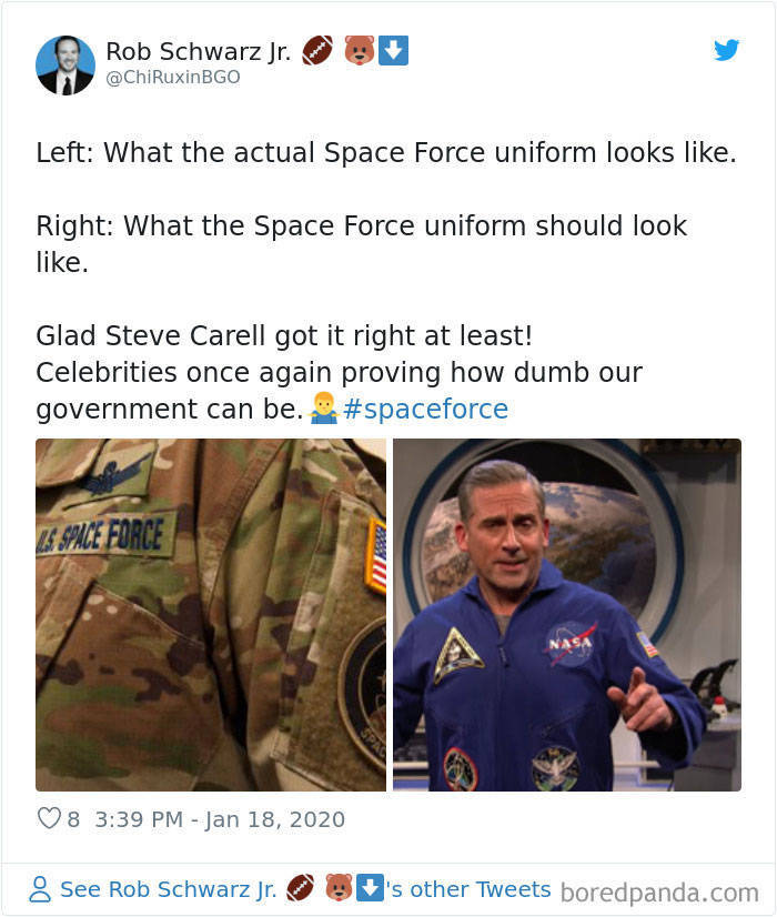 People Don't Like New Space Force Uniforms…