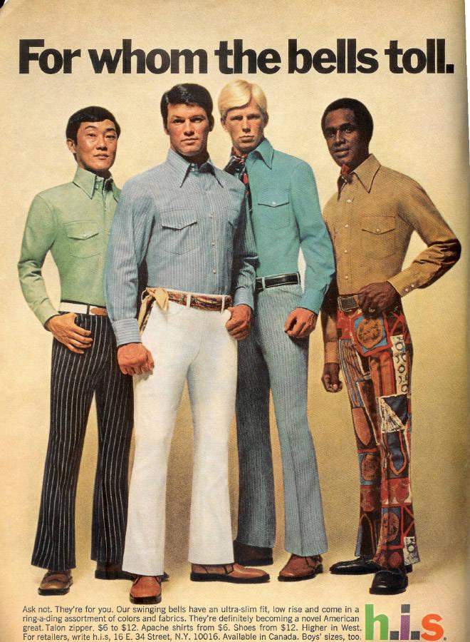 70s Male Fashion Was So Weird…