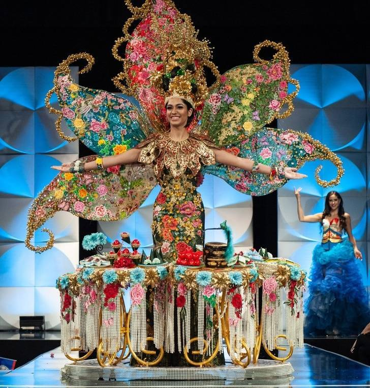 Miss Universe Contests Have Some Impressive Outfits!