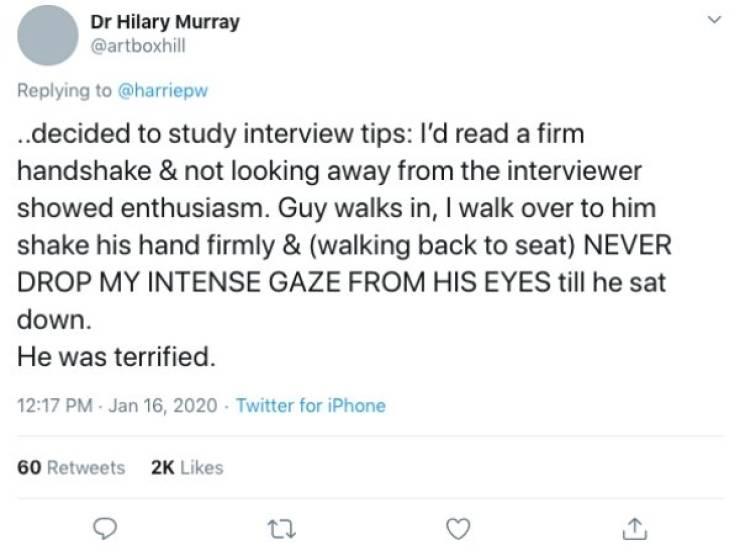 Worst. Interviews. Ever.