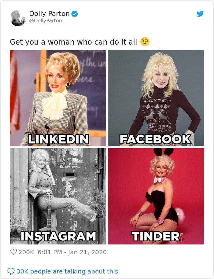 Dolly Parton Starts A New Internet Challenge, And Many Celebs Are In!