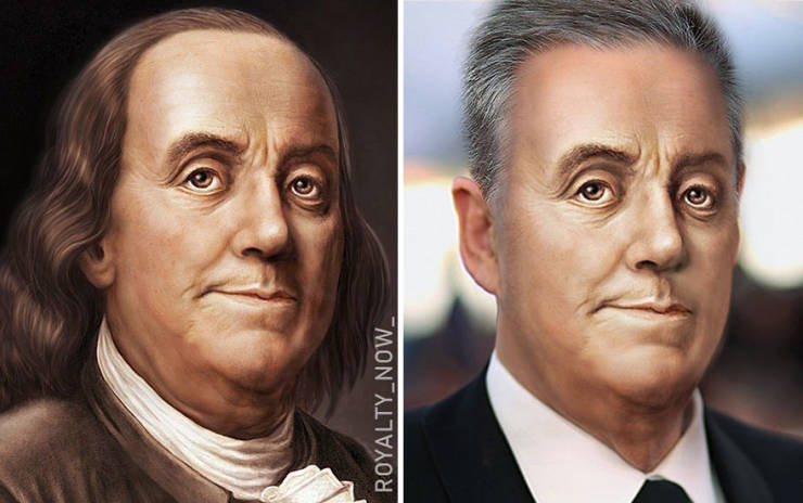 Historical Figures And How They Could Look Today