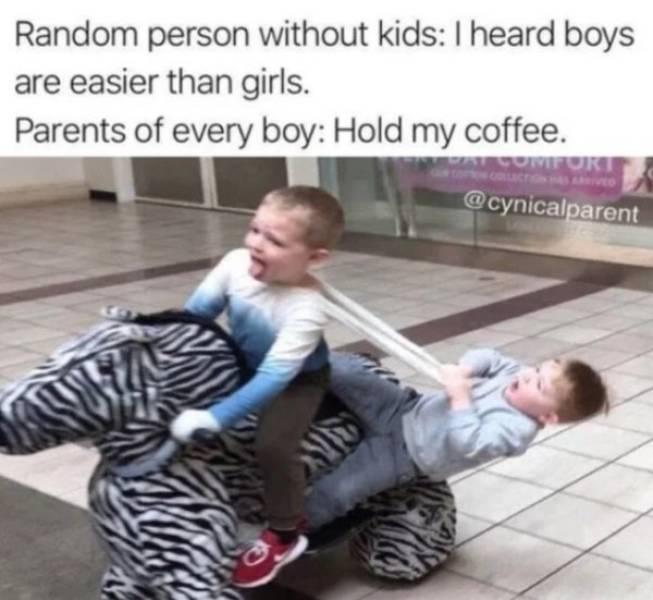 Raising Boys Is Never Easy…