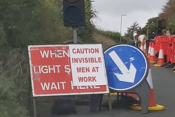 Signs Should Be Funny!