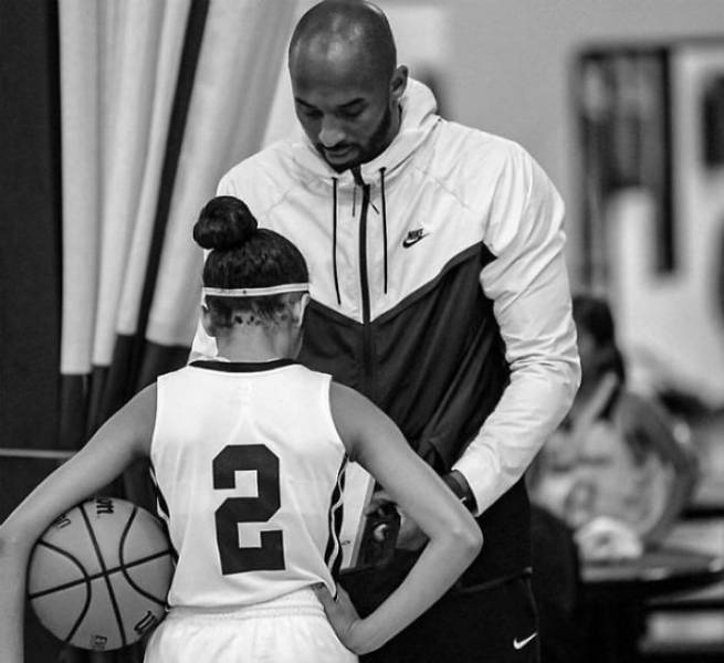 Photos Of Late Kobe Bryant With His 13-Year-Old Daughter, Gianna. This Is Sad