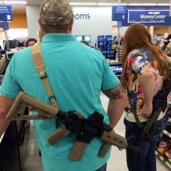 How They Go Shopping In Texas