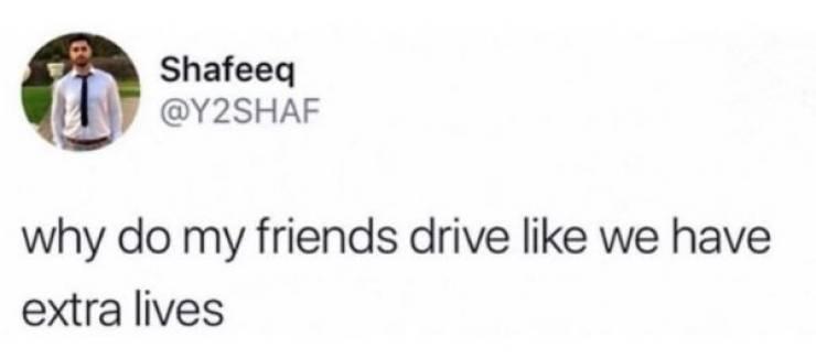 Don't Speed Around This Auto Humor