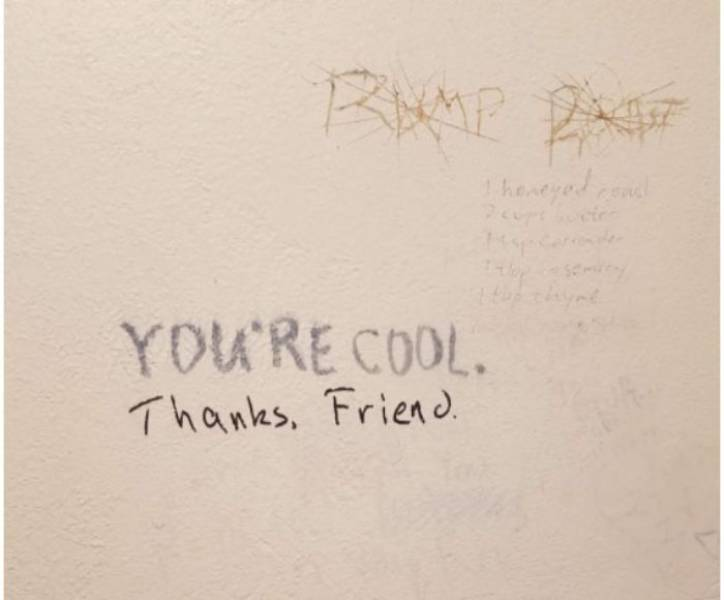 Graffiti Can Be Nice And Polite!