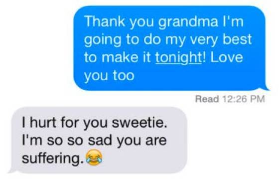 "Old People Need To Learn What That ""Crying"" Emote Really Means…"