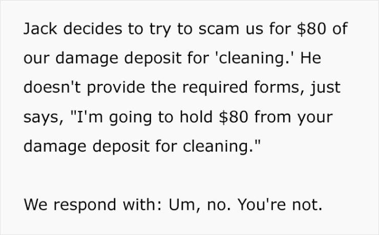 Scammer Landlord Becomes The Scammed