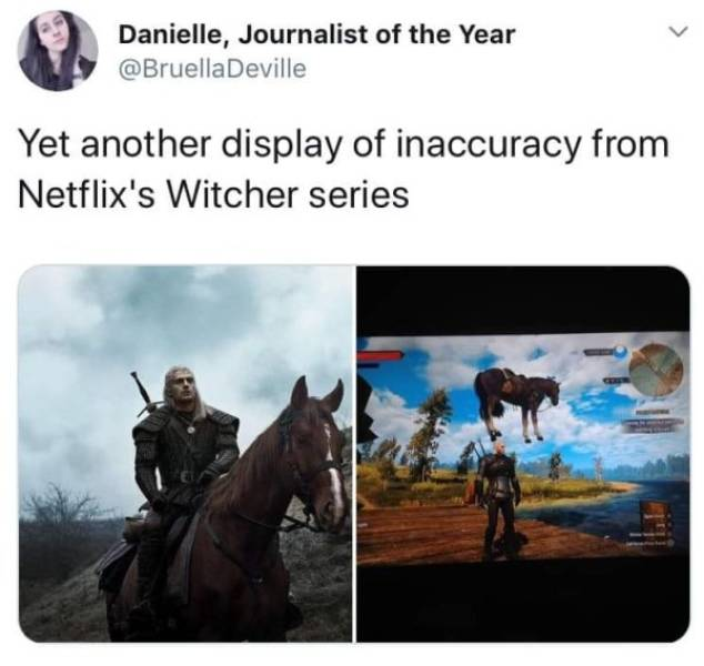 Your Witcher Accepts All The Tossed Memes