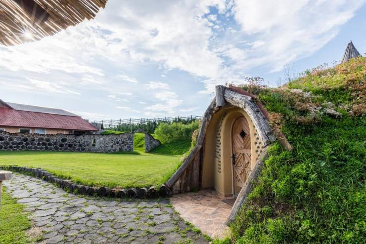 Real Hobbit Houses Are Up For Grabs!