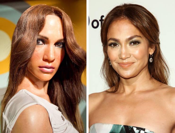 Celebrity Wax Figures Aren't Always On Point…