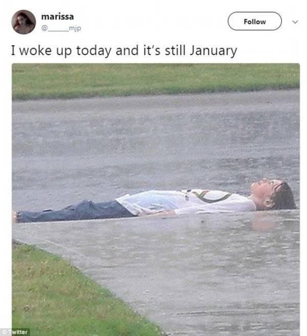 Is It STILL January?!