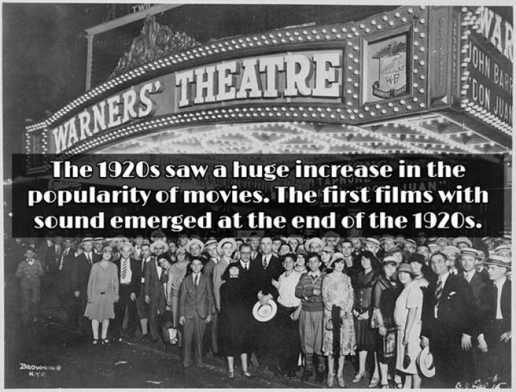 These 1920s Facts Are A Century Old Already!