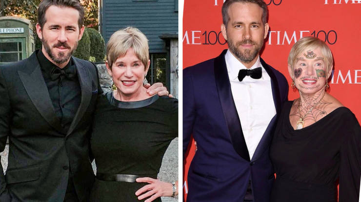 Celebs Love Their Parents Too