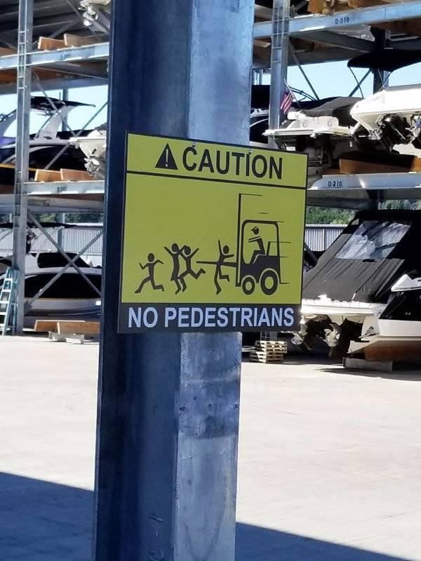 These Signs Are Kinda… Aggressive?