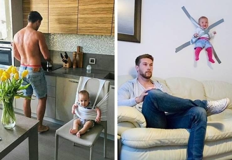 Children Love Being With Their Dads!
