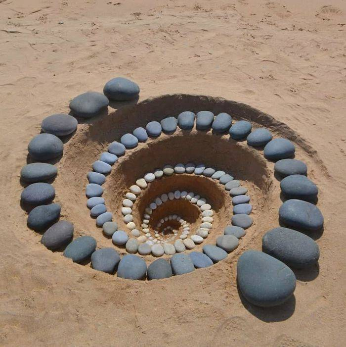 Artist Turns Stones Into Beautiful Therapy For Himself