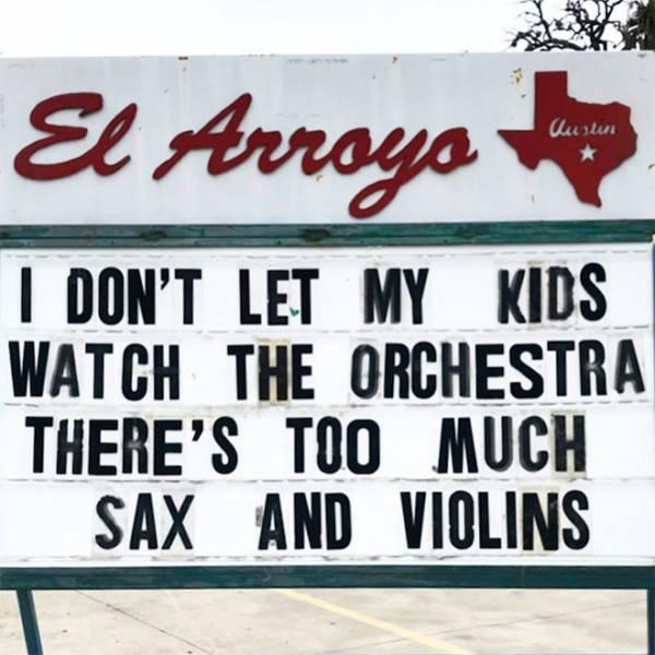 """""""El Arroyo"""" Signs Strike Again!"""