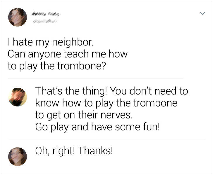 These Neighbors Are Not Boring At All!