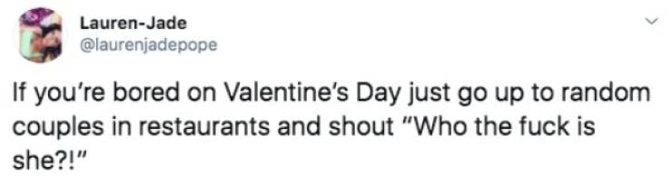 "Valentine Day's Tweets Aren't Very ""Love Is In The Air""-ish…"