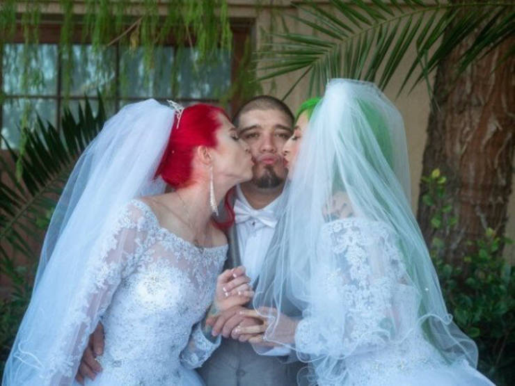 American Guy Marries Two Women At Once