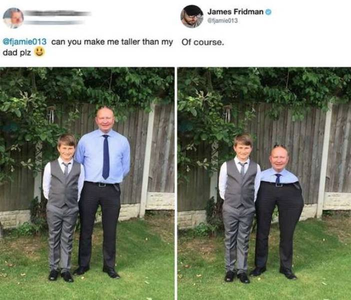James Fridman With The Most Savage Photoshops