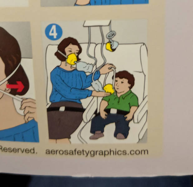 Who Draws These Flight Safety Cards?!