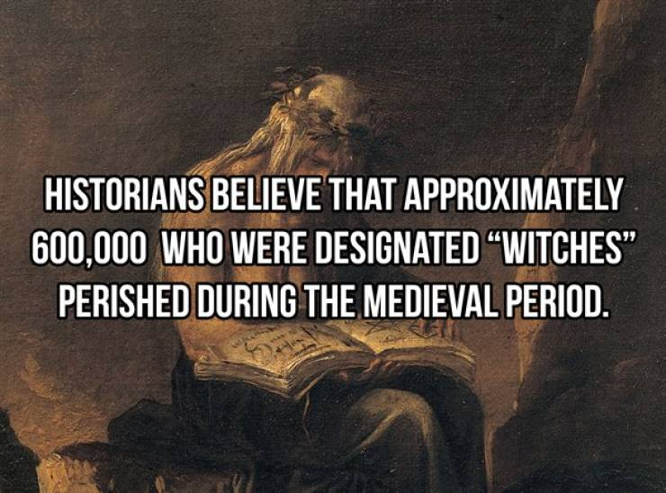 History Facts Can Get Very Strange