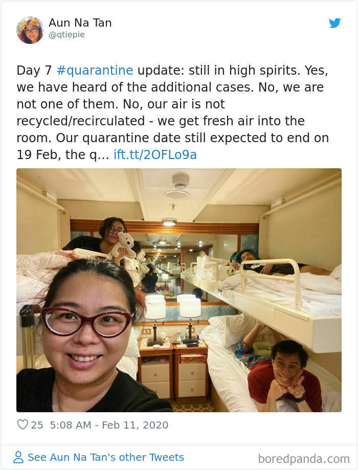"Quarantined ""Coronavirus Cruise Ship"" Prisoners Share Their Experiences"