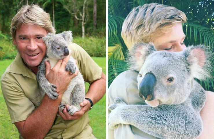 Robert Irwin Recreates His Father's Photos, Looks Exactly Like Him